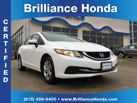 Certified Pre-Owned 2015 Honda Civic LX 4D Sedan