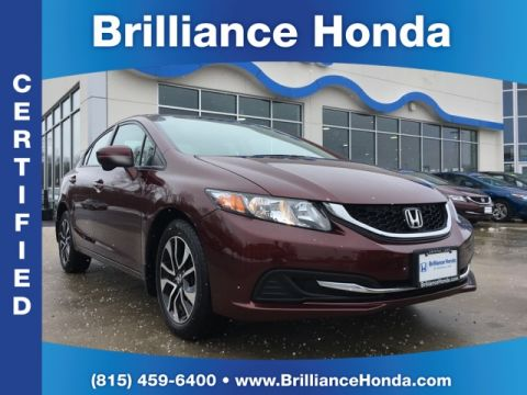 Certified Pre-Owned 2015 Honda Civic EX 4D Sedan