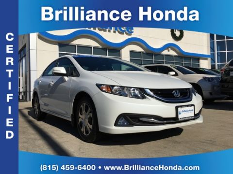 Certified Pre-Owned 2013 Honda Civic Hybrid 4D Sedan