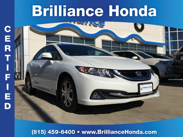 Certified Pre-Owned 2013 Honda Civic Hybrid