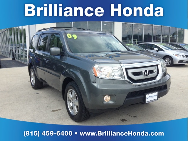 pre owned 2009 honda pilot ex 4d sport utility in crystal
