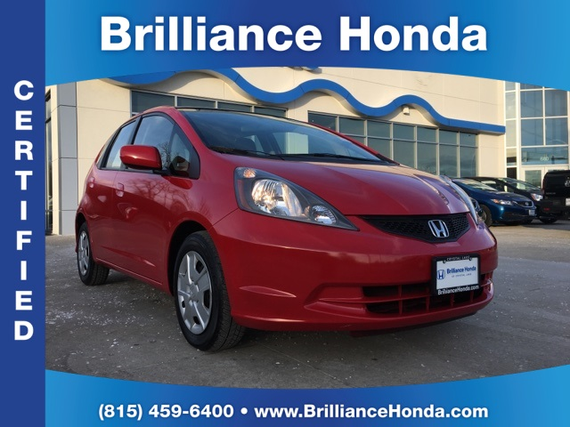 Certified Pre-Owned 2012 Honda Fit Base